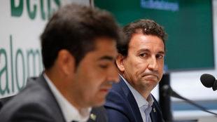 Ángel Haro y José Miguel López Catalán.