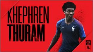 El anuncio del fichaje de Khéphren por el Niza.