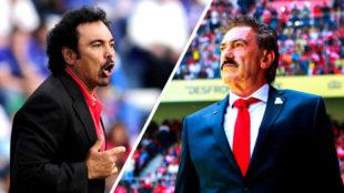 Hugo Sánchez y La Volpe, la eterna rivalidad