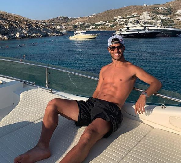 Asensio, otro que se apunta a unas vacaciones en el mar.