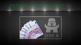 Mercado de fichajes de la Serie A.