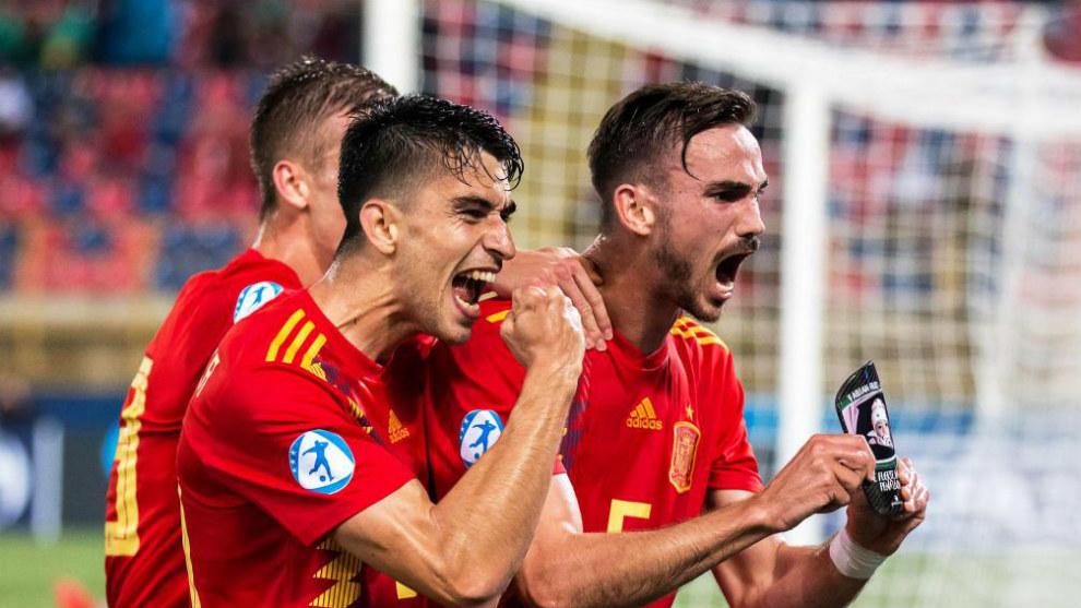 España - Francia: horario y dónde ver hoy en TV las semifinales del Europeo sub-21