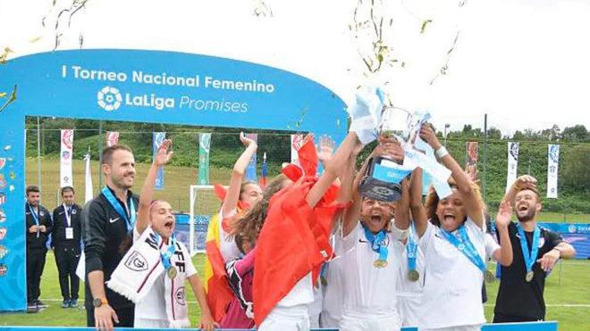 El Real Madrid celebra LaLiga Promises en Villarreal.