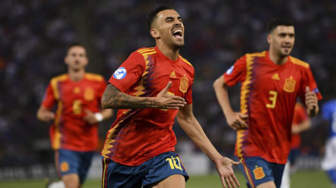 Spain U21 hero Ceballos: I don't want to leave Real Madrid