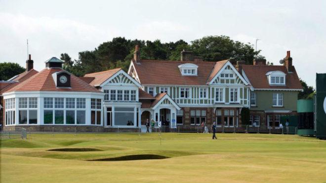 La casa club de Muirfield.