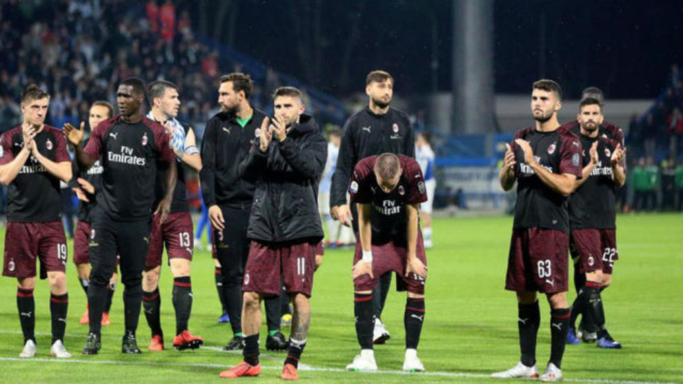 ¡El Milan, excluido de Europa!