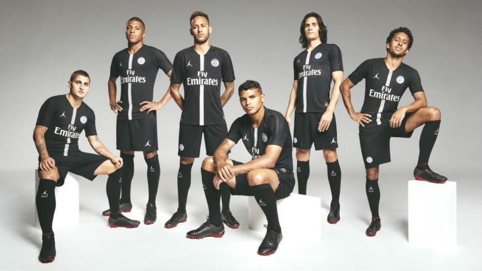 Francia Ligue 1 Histórico contrato del PSG con su marca patrocinadora