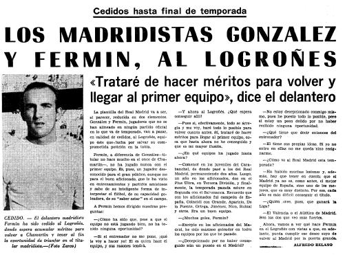 Primer artículo publicado por Alfredo Relaño en MARCA, el 11 de...
