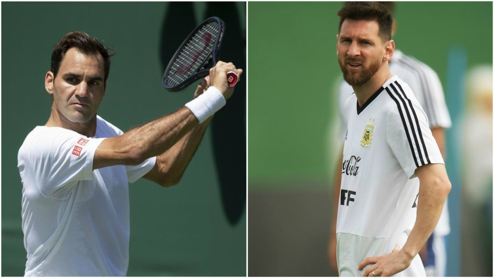 Federer y Messi