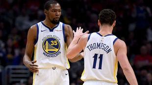 Kevin Durant y Klay Thompson, las dos prioridades de los Warriors en...