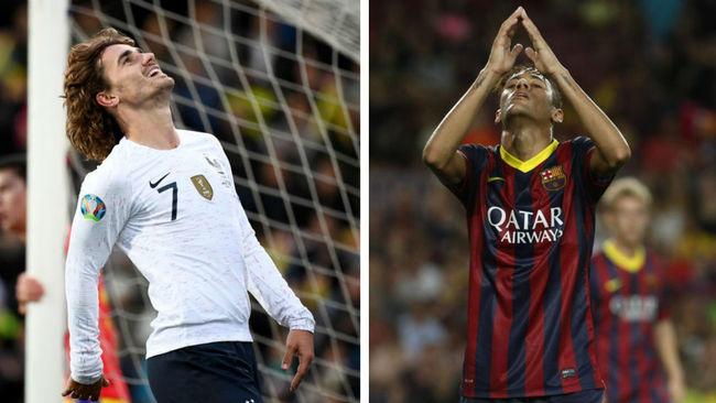 Griezmann y Neymar