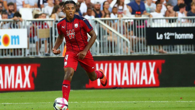 Kounde is highly regarded at Bordeaux.