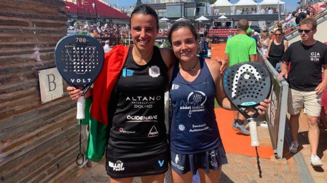 Paula Josemaría Martín y Ana Catarina Nogueira.