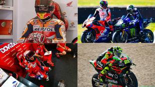 Las mejores imágenes del Gran Premio de Holanda de MotoGP, donde...