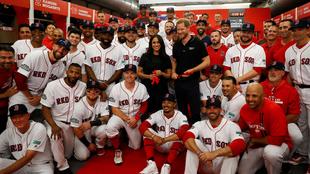 El príncipe Harry y Meghan conviven con los Red Sox y Yankees.