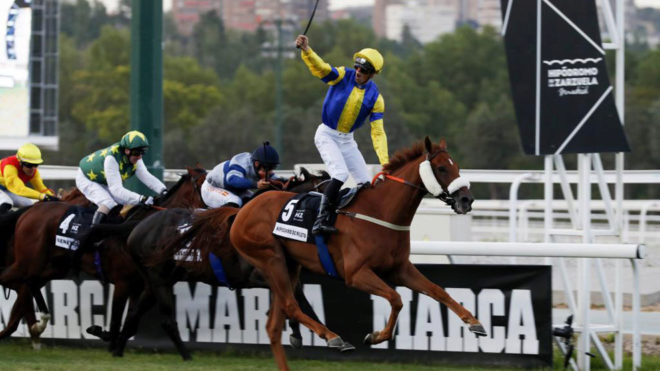 'Hipodamo de Mileto', ganador del Gran Premio de Madrid.