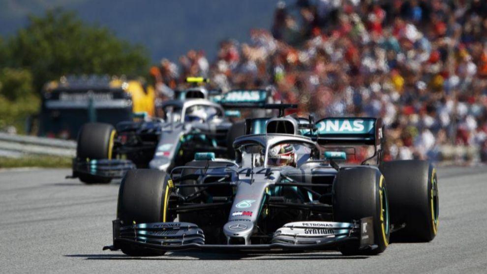 Hamilton saldrá cuarto, tras Bottas, pese a la sanción.