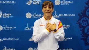 Sandra Sánchez se muestra emocionada al conocer que será la...
