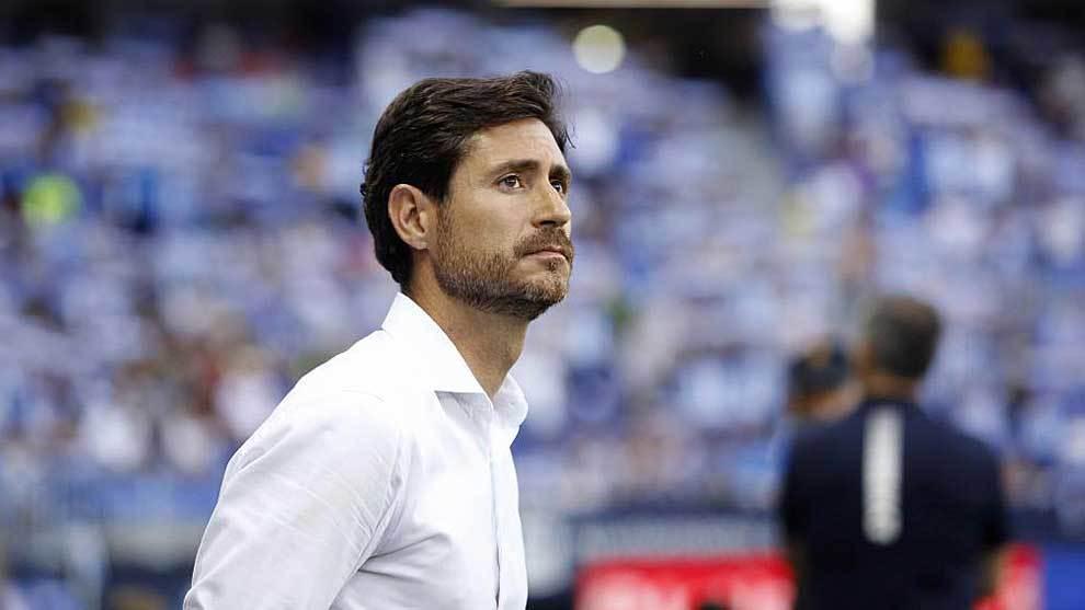 Víctor Sánchez del Amo, durante un partido de esta temporada en La...