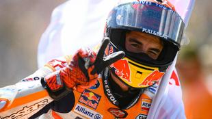 Marc Márquez, tras quedar 2º en Assen.