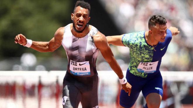 Orlando Ortega se impone en los 110 metros vallas de la Reunión de...