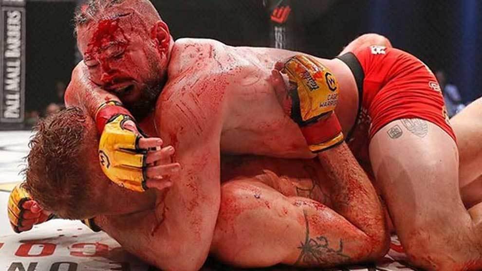 La pelea entre Nicolas Lokomotivo Dalby (compartió en Instagram las...
