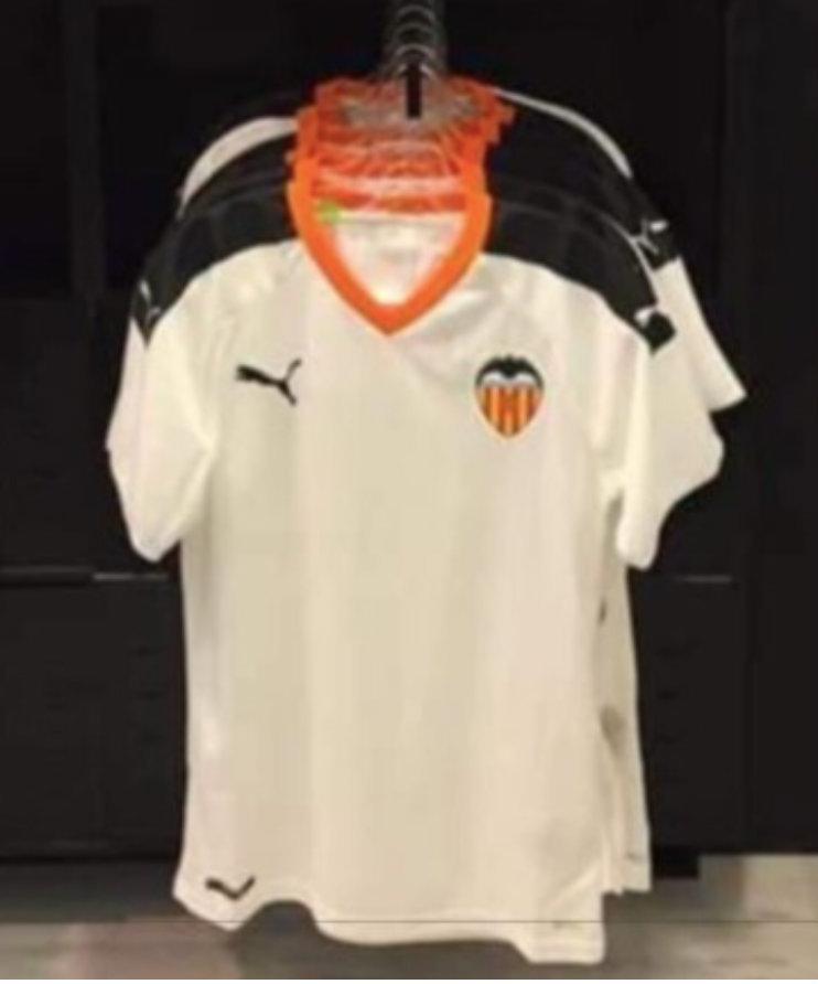 Valencia CF: El Valencia desvela su camiseta de