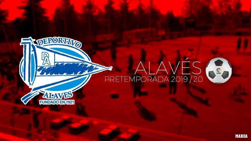 Calendario de pretemporada del Alavés.