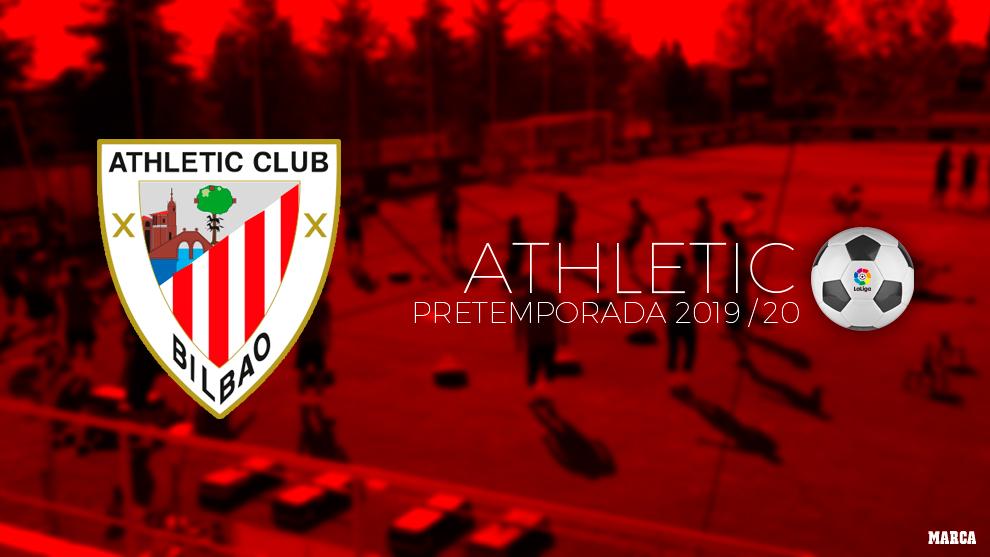 Athletic Bilbao Calendario.Athletic Calendario De Pretemporada Athletic De Bilbao 2019