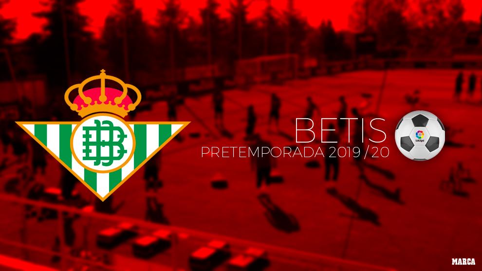 Calendario de pretemporada del Betis