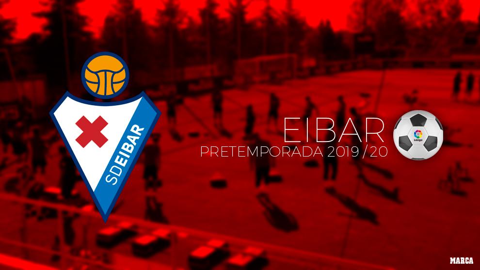 Calendario de pretemporada del Eibar.