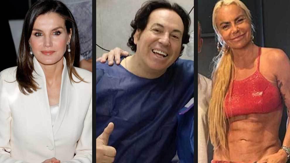 Letizia Ortiz, Pipi Estrada y Leticia Sabater