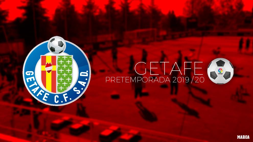 Calendario de pretemporada del Getafe.