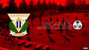Calendario de pretemporada del Leganés.