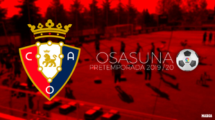 Calendario de pretemporada de Osasuna.