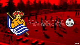 Calendario de pretemporada de la Real Sociedad.