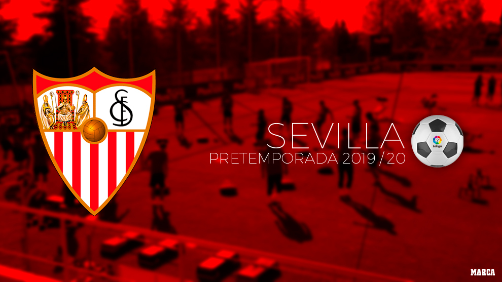 Calendario de pretemporada del Sevilla.