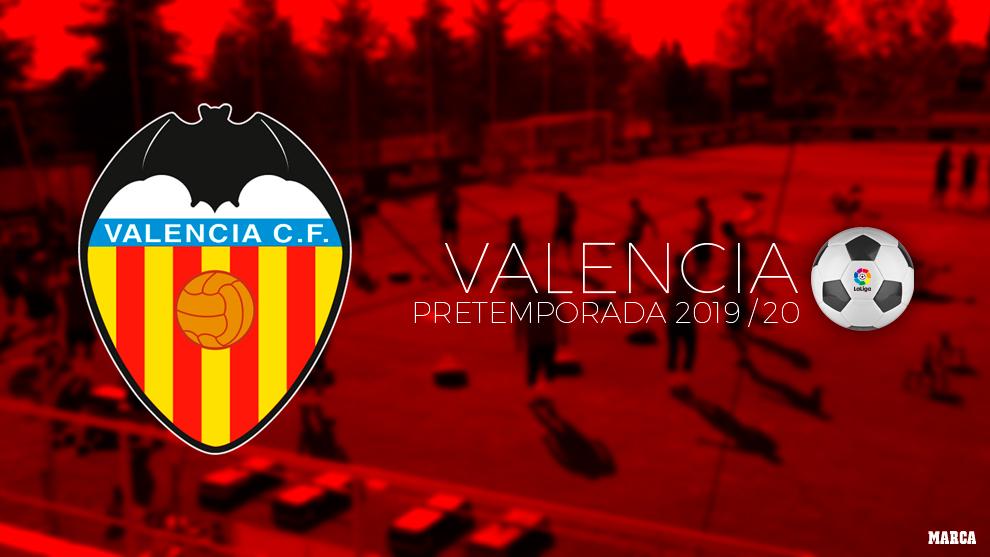 Calendario de pretemporada del Valencia.