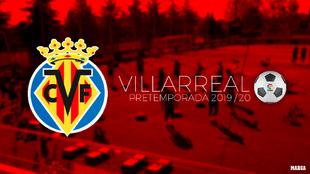 Calendario de pretemporada del Villarreal.
