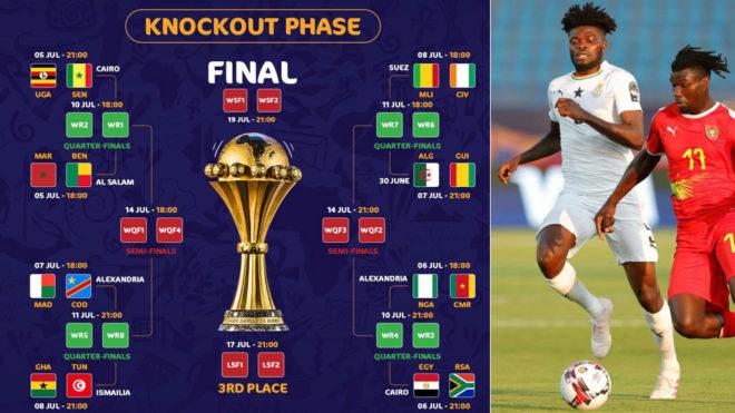 Cuadro de la Copa África y Thomas.