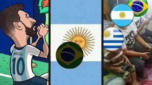 Los mejores memes tras el triunfo 2-0 de Brasil ante la Argentina de...