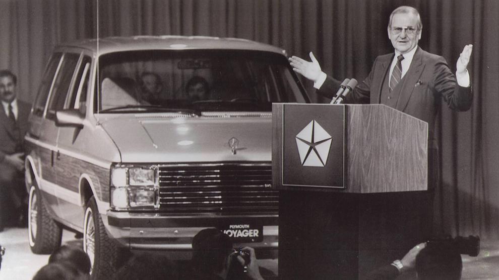 Iacocca salvó a Chrysler de la bancarrota.