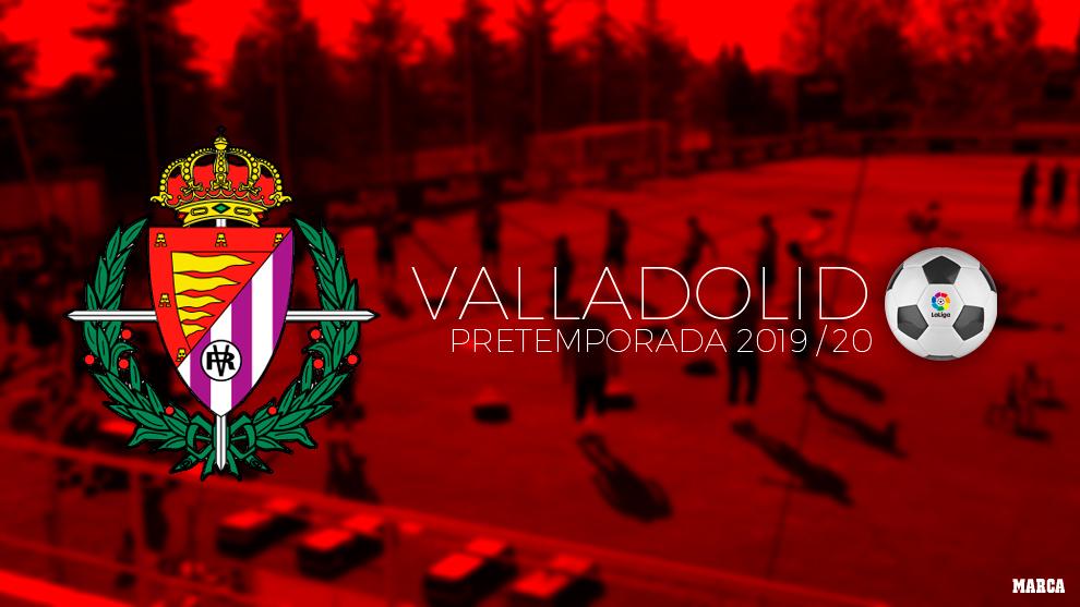 Calendario de pretemporada del Valladolid.