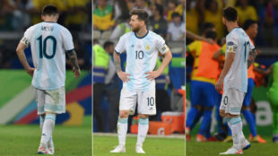 Leo Messi, ante Brasil.