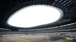 Fachada del Estadio Olímpico de Tokyo 2020