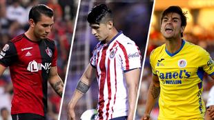 Atlas, Chivas y Atlético San Luis estarán involucrados