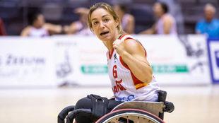 Sonia Ruiz, capitana de la selección española en el Europeo de...