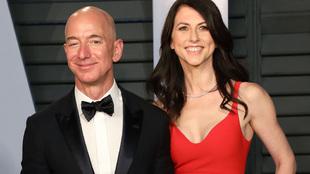 Jeff Bezos y MacKenzie