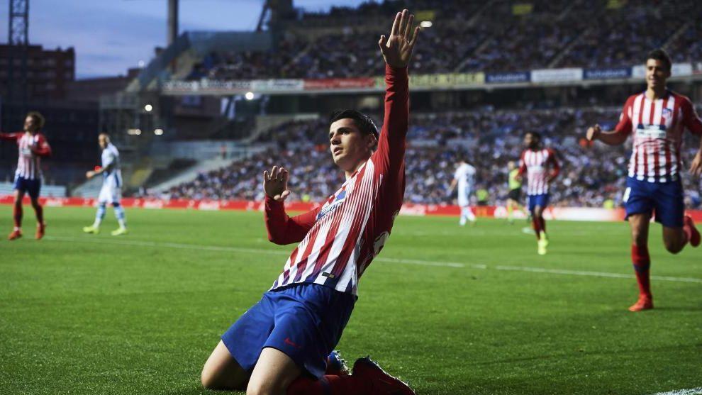 El Atlético de Morata será el primer visitante dlel nuevo Anoeta con...