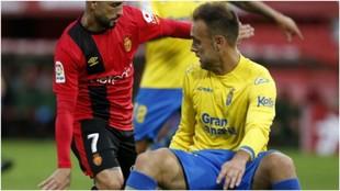 Cala, en el partido ante el Mallorca